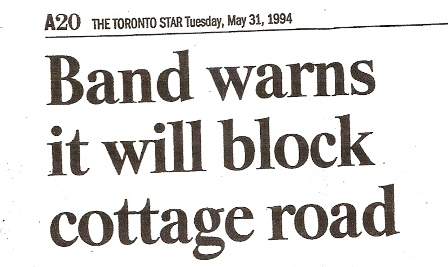 Road Closure Headline